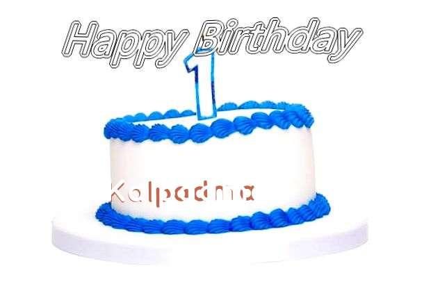 Happy Birthday Cake for Kalpadma