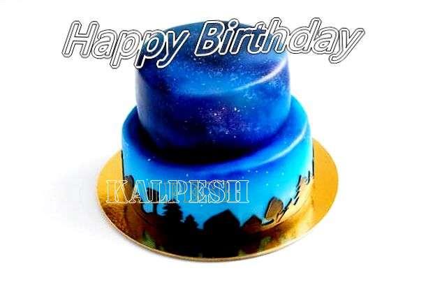 Happy Birthday Cake for Kalpesh
