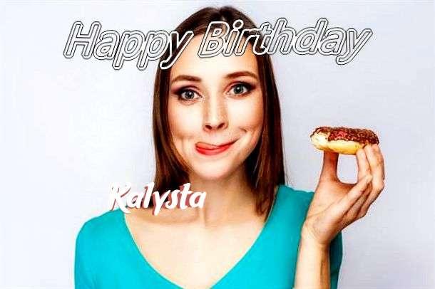 Happy Birthday Wishes for Kalysta