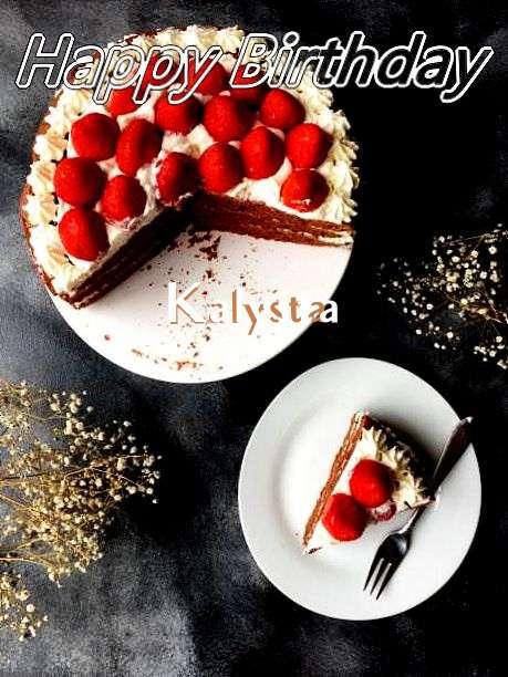 Happy Birthday to You Kalysta