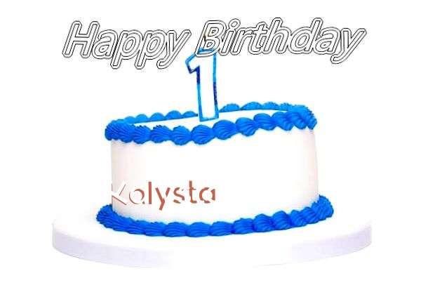 Happy Birthday Cake for Kalysta