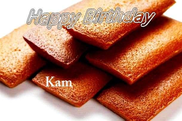Happy Birthday to You Kam