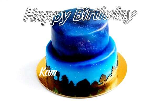 Happy Birthday Cake for Kam