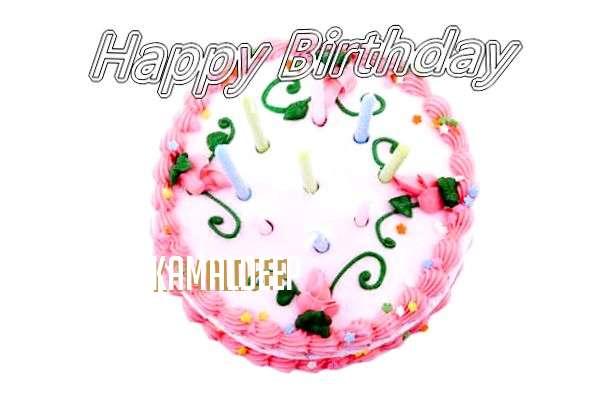 Happy Birthday Cake for Kamaldeep