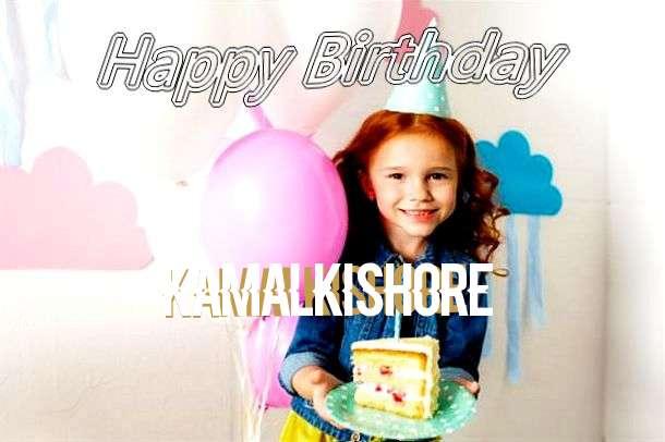 Happy Birthday Kamalkishore Cake Image