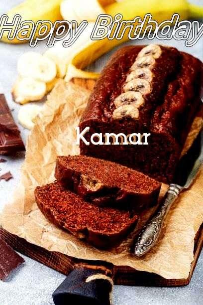 Happy Birthday Cake for Kamar