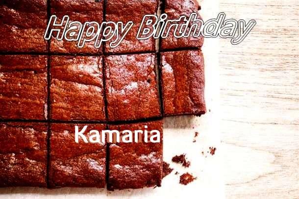 Happy Birthday Kamaria