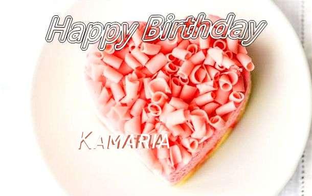 Happy Birthday Wishes for Kamaria