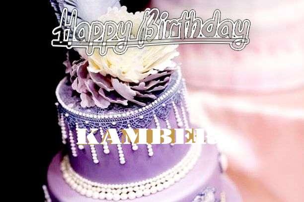Happy Birthday Kamber