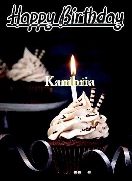 Happy Birthday Cake for Kambria