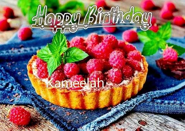 Happy Birthday Kameelah Cake Image