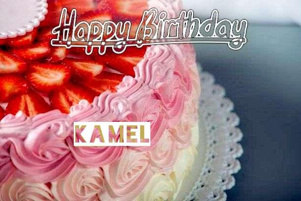 Happy Birthday Kamel Cake Image