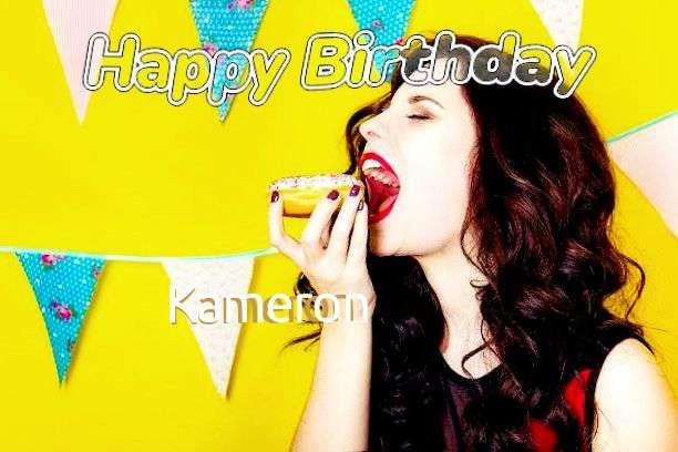 Happy Birthday to You Kameron