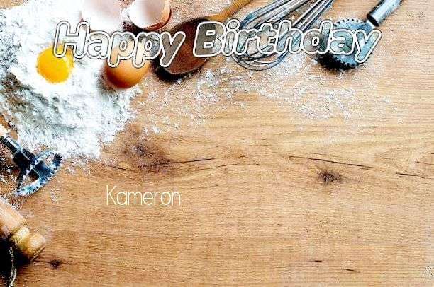 Happy Birthday Cake for Kameron