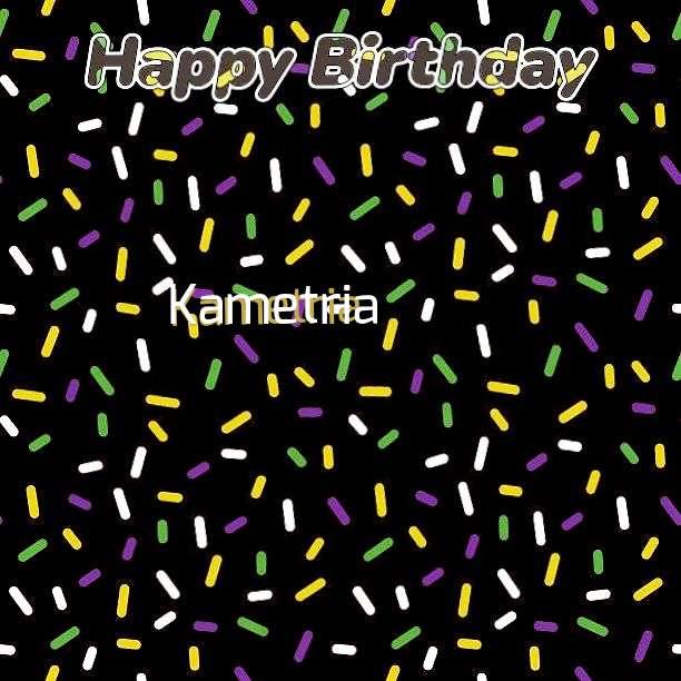Birthday Images for Kametria