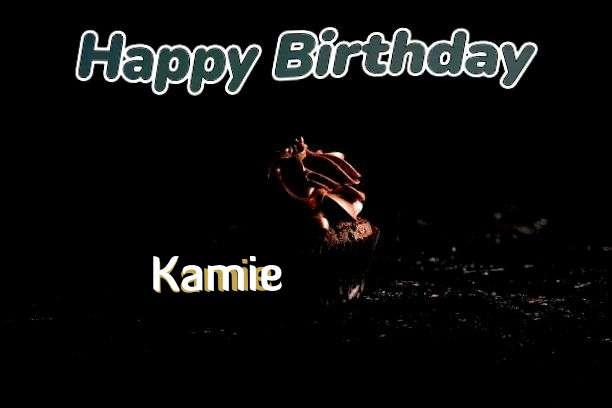 Happy Birthday Kamie Cake Image