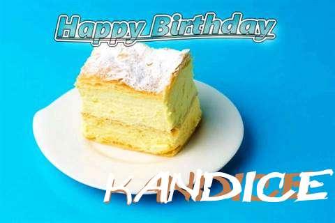 Happy Birthday Kandice Cake Image