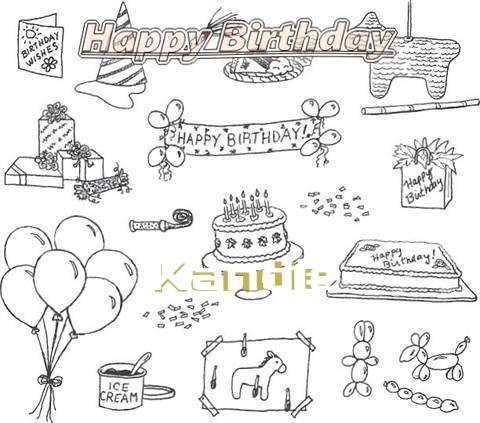 Happy Birthday Cake for Kandie