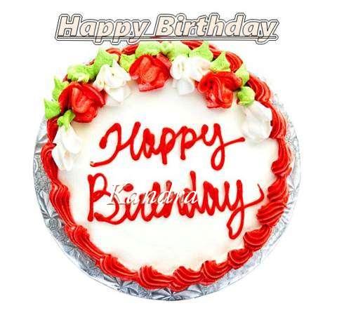 Happy Birthday Cake for Kandra