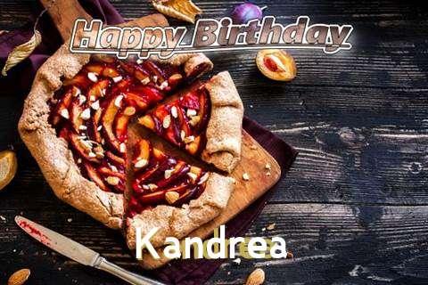 Happy Birthday Kandrea Cake Image