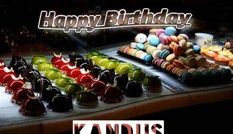 Happy Birthday Cake for Kandus
