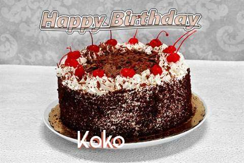 Happy Birthday Koko