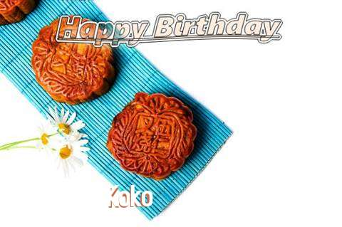 Birthday Wishes with Images of Koko