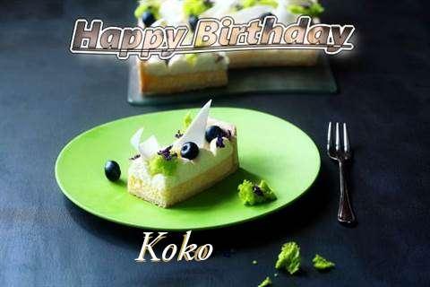 Koko Birthday Celebration