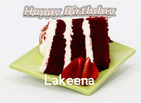 Birthday Wishes with Images of Lakeena
