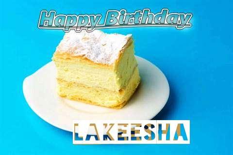 Happy Birthday Lakeesha Cake Image