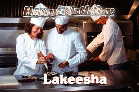 Happy Birthday Cake for Lakeesha