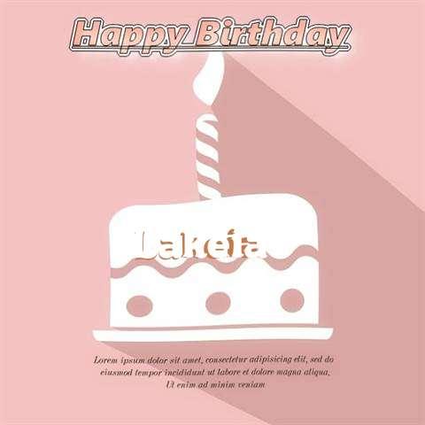 Happy Birthday Lakeia