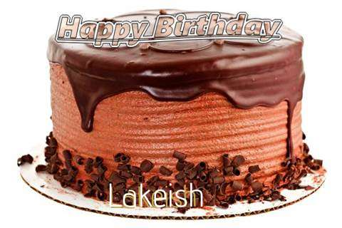 Happy Birthday Wishes for Lakeish