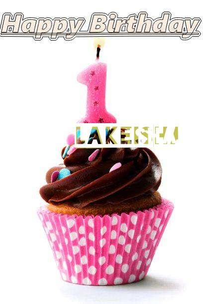 Happy Birthday Lakeisha Cake Image
