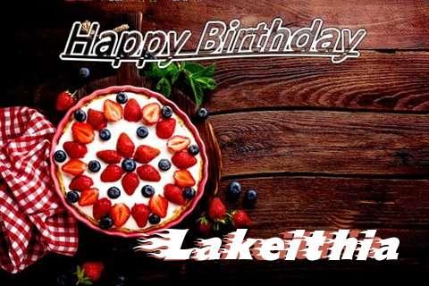 Happy Birthday Lakeithia Cake Image