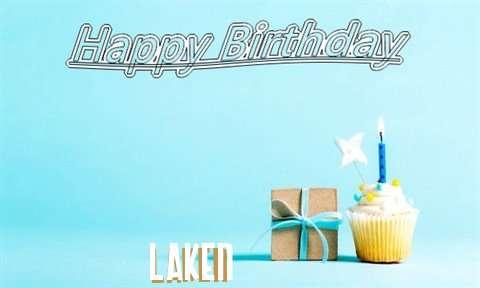 Happy Birthday Cake for Laken