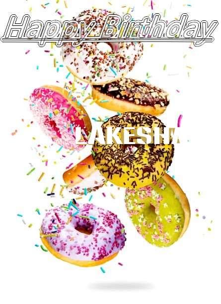 Happy Birthday Lakesha Cake Image
