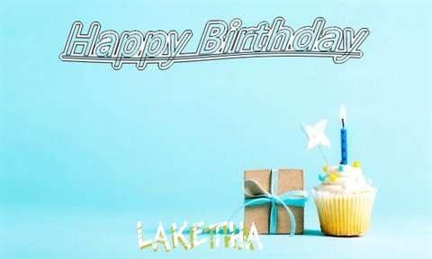 Happy Birthday Cake for Laketha