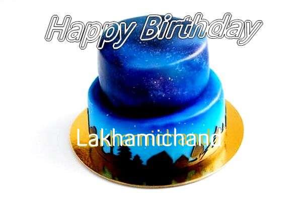 Happy Birthday Cake for Lakhamichand