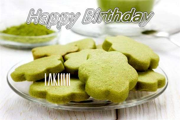Happy Birthday Lakhmi