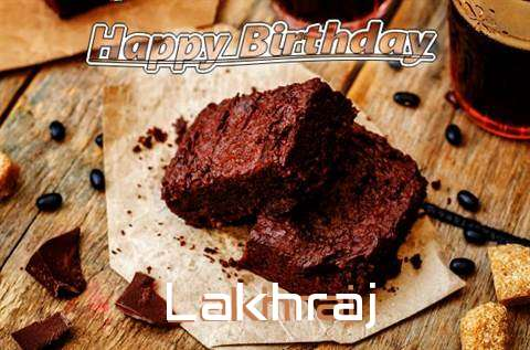 Happy Birthday Lakhraj Cake Image