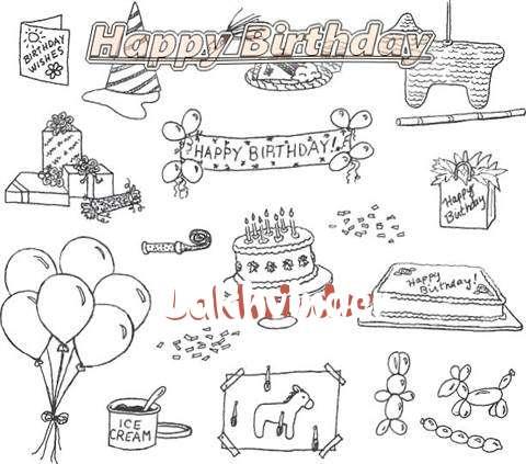 Happy Birthday Cake for Lakhvinder