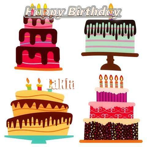 Happy Birthday Wishes for Lakia