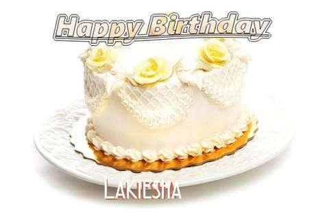 Happy Birthday Cake for Lakiesha