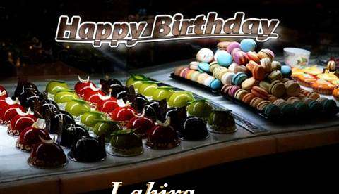 Happy Birthday Cake for Lakira