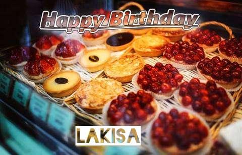 Happy Birthday Cake for Lakisa