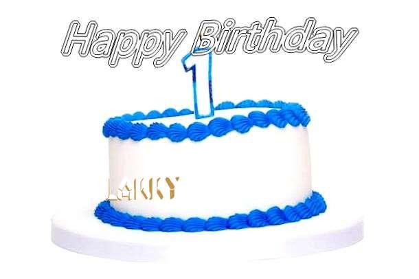 Happy Birthday Cake for Lakky