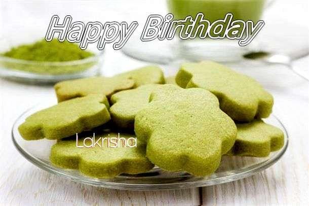 Happy Birthday Lakrisha