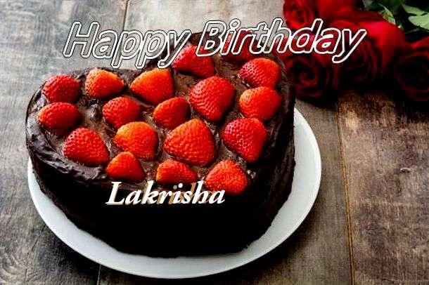 Happy Birthday Wishes for Lakrisha