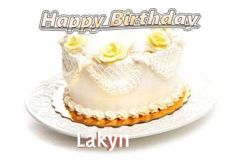 Happy Birthday Cake for Lakyn